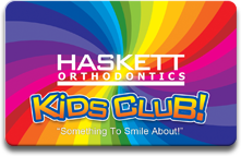 Kids Club Patient Rewards card