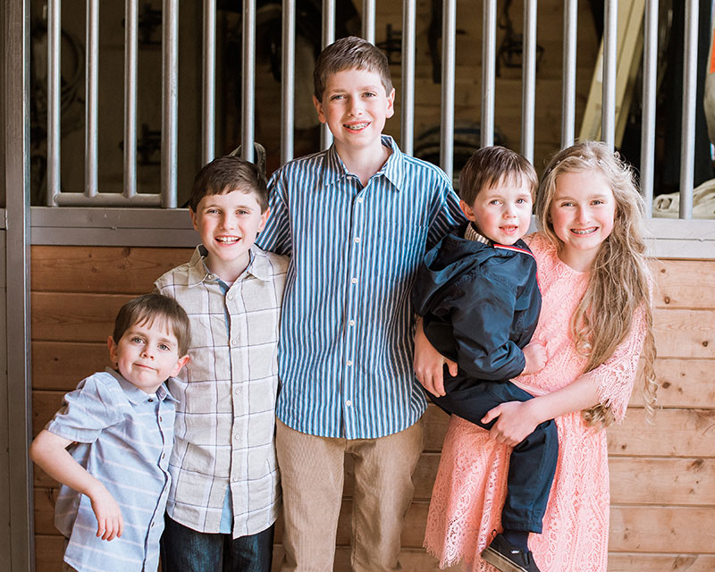 Haskett Kids - Blake, Ava, McCoy, Briggs, and Nash